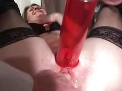 Two french matures banged double teamed and fist fucked at the gyneco