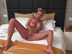 milf, blonde, big tits, solo, shower, masturbating, tattooed, mature nl, lana vegas