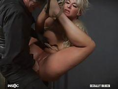 London gets fingered and fucked by her master