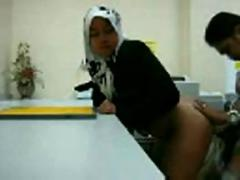 Muslim girl fucked from behind