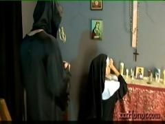 Ariella ferrera in the holy nun conversion