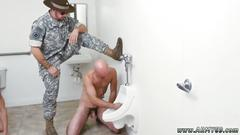Nude movie of gay sexy marines good anal training