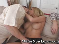 licking, blonde, blowjob, wife, cheating, kissing, missionary, hotwife, interview, doggie, cuckold, foreplay, lover
