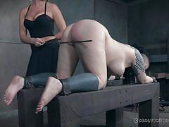 Real time bondage for luna lavey
