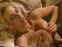 Awesome blonde titfuck
