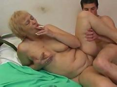 hardcore, smoking, blowjob, pussyfucking, fetish, oldandyoung, granny