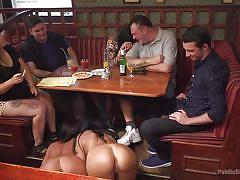 bdsm, babe, public nudity, outdoor, public, sex slave, ass slapping, licking shoes, public disgrace, kink, angelina wild, steve holmes, ram, nasty khalifa