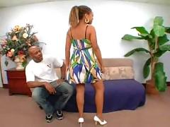 Sexy black babe melody jackson getting fucked