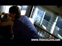 Sex scene from body shots