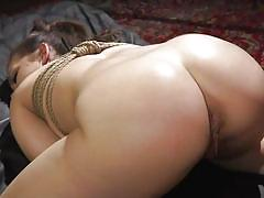 Kimber woods loves to get fucked with a huge strapon