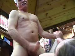 Grandpa loves young fresh ass
