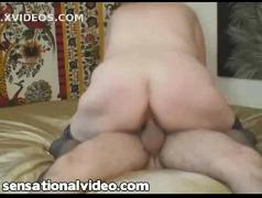 Huge tit fat wife gets her ass fucked pov