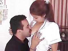 Indian girl taking lessons from her teacher