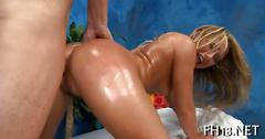 She loves hr sensual visits to her masseuse
