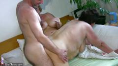 granny, mature, threesome,