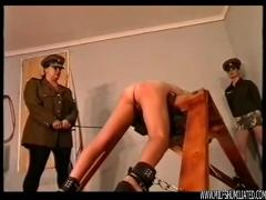 punishment, bondage, prison, milf, humiliated, humiliation, lesbian, uniform, spanking