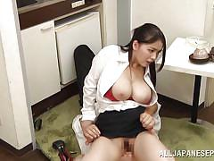 Japanese sex in the office
