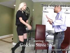 Probation officer's boot bitch - femdom boot fetish