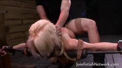 Bdsm action with a very hot babe