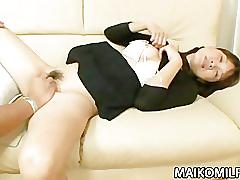 Horny japan milf takako yanase enjoys toys and sex