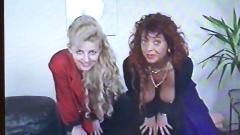 German amateur mother & daughter casting