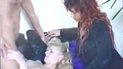 German amateur mother & daughter casting