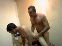 Stepdad likes to abuse young twink