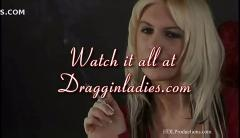 Nikita love- smoking fetish at dragginladies