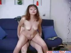 Nice russian mature mother