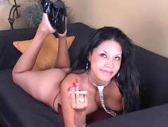 doggie, reverse, blowjob, cigarettes, missionary, internal, cowgirl, scene, heels, lingerie, breasts, natural, smoking, smokes, sex, latina, hardcore, fetish, cumshot, brunette