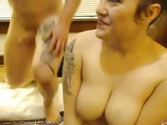 Tattooed bound gal gets violated, anal toy squirt