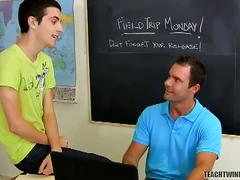 Anal banging at school with conner and cameron