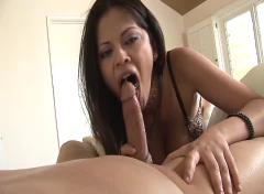 Hot latina blowjob