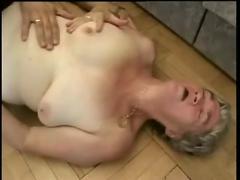 Hairy grey haired granny fucked
