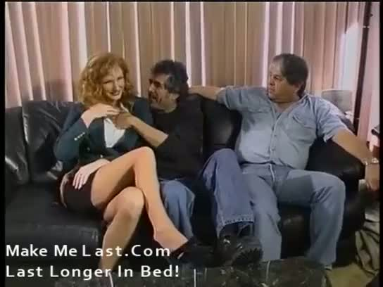 Red-headed mature gets plowed hard in the ass
