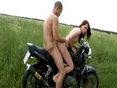 Alicia goes for a ride