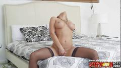 Sweet chick rachel starr wanted a hard cock