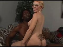 Ivory granny and ebony cock