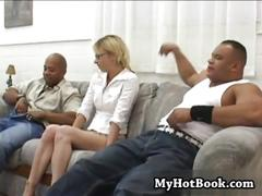 This interracial  hardcore behind the scenes movie