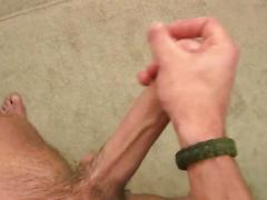 Huge dick and touching of his great balls  segment