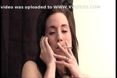 Amy starr - smoking fetish at dragginladies