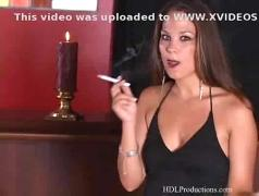 Laura lee - smoking fetish at dragginladies