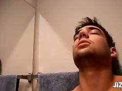 Naughty hottie videos his throbbing cock