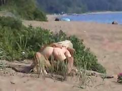 Amateur couple hidden camera outdoor reality real beach sex