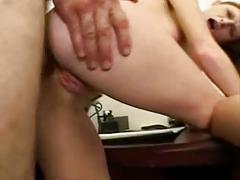 D's favorites: allison wyte redhead anal creampie
