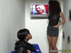 Serena ali and amber steel visit gloryhole