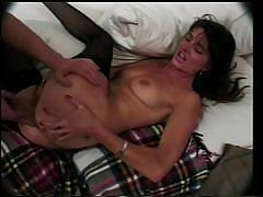 threesome, blowjob, from behind, riding cock, anal sex, reverse cowgirl, pov, brunette milf, maximum orgy, sondra ouida, evan denzil, prochorus brogan
