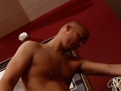 Naughty young cop fucking sleeping hot twink