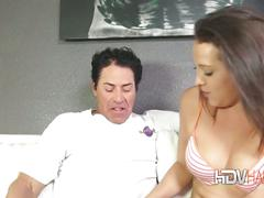 Teen bridgette michaels nails and older guy