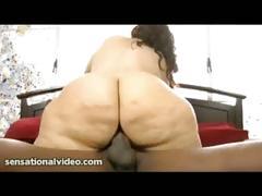 Pawg vanessa blake swallows and fucks huge black cock
